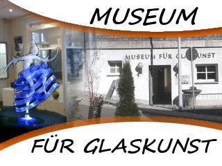 Das Museum für Glaskunst in der Glasstadt Lauscha - lernen Sie mehr über die Glasgeschichte, Glasherstellung und Glaskusnst gleich in der näche zum Waldstüble