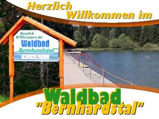 Im Nachbarort Neuhaus können Sie sich an Heißen Tagen im Waldbad Bernhardstal abkühlung verschaffen.