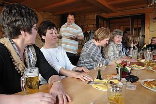 """Gasthaus und Pension """"Waldstüble"""" in Ernstthal Thüringer Hausmanskost, freundlich serviert auf Großen Tellern."""