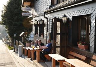 Gasthaus und Pension - Waldstüble in Lauscha Ot Ernstthal. Rastplaz für Rennsteig Wanderer und Radfahrer, Pension für Reisende und Ferienzimmer und Wohnungen für den Erholungsurlaub im Thüringerwald.nder